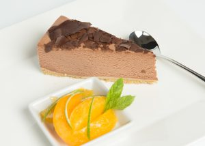 Chocolate Orange Cheesecake Plated