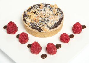 Individual Chocolate & Pear Frangipane Tart