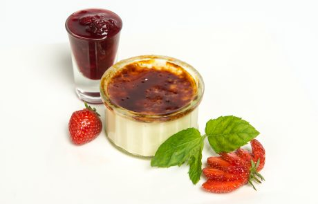 Individual Creme Brulee Plated