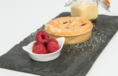 Individual Raspberry Bakewell Tart