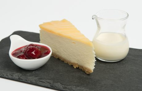 Lemon Cheesecake Plated