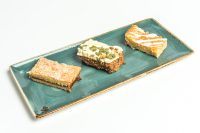Selection of Traybake Slices Plated