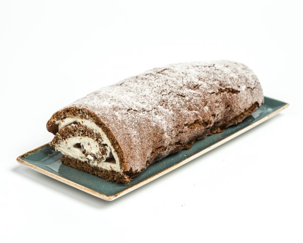 Sticky Toffee Roulade