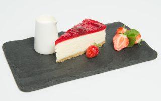 Strawberry Cheesecake Plated
