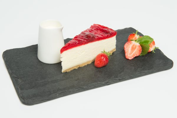 Strawberry Cheesecake Plated